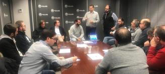 Gaspar Pérez, Pep Mascarell, David Ronda y Fran Soria forman el Comité Electoral del PP en la Safor