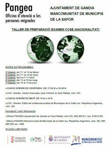 TALLERS DE PREPARACIÓ PER ALS EXÀMENS DE CCSE.