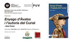 Abel Soler presenta en Albaida 'Enyego d'Ávalos i l'autoria del Curial'