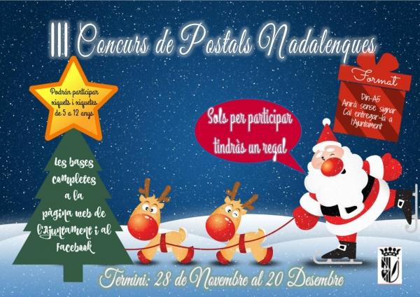 III CONCURS DE POSTALS NADALENQUES