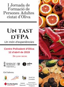 L'Ajuntament d'Oliva presenta la 1a Jornada de Formació de Persones Adultes ciutat d'Oliva
