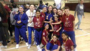 1er i 3er Premi en el campionat II Open de dansa urbana de Paterna