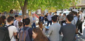 40 joves arquitectes participants del projecte Europan 15 visiten Oliva per conéixer la zona dels Rajolars de la ciutat
