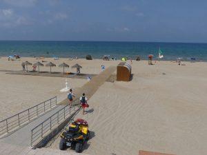 Tot a punt per a l'inici de la temporada de bany a les platges d'Oliva