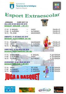 JOCS EXTRAESCOLARS - BASQUET