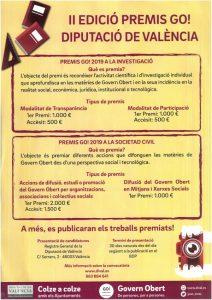 II Edició premis go! Diputació de Valencia