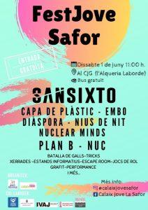 FESTJOVE SAFOR | Mancomunitat de La Safor