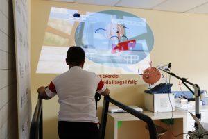 L'Hospital General combat l'obesitat infantil amb un programa pioner basat en la tecnologia i l'exercici físic