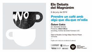 Özlem Cekic reflexionarà als Debats del Magnànim sobre l'origen de l'odi i com combatre'l