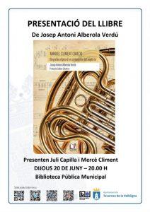 Presentació del llibre de Josep Antoni Alberola