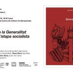 Un nou llibre del Magnànim analitza l'etapa del PSPV-PSOE en la Generalitat (1983-1995)