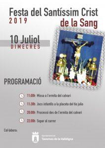 Festa del Santíssim Crist de la Sang 2019