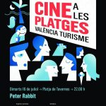 Cine a la platja. Peter Rabbit