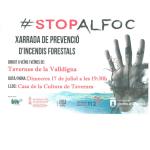 Stop al foc. Xarrada de prevenció de riscos forestals