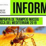 Campanya de trampeig massiu mosca del mediterrani 2019