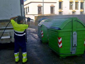 Campanya neteja d'ubicacions de contenidors
