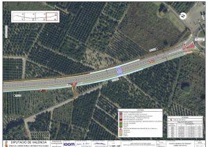 La Diputació de València exposa a informació pública el projecte de millora de la carretera CV-670 Piles-Oliva