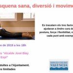 TALLER ESPALDA SANA, DIVERSIÓN Y MOVIMIENTO