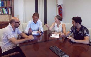 La Regidoria de Turisme treballa en nou model turístic per a Oliva
