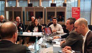 Oliva defensa els seus projectes englobats dins del Certamen Europan-15 a Àustria