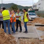 Visita tècnica a les obres de millora del polígon industrial El Brosquil