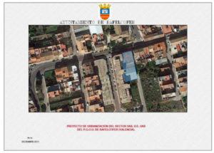 Aprovació inicial projecte urbanitzacio sector UE-3AB