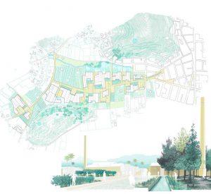 El projecte d'Oliva, sobre els Rajolars, obté cinc premis per part del jurat del Certamen Europan 15 d'Espanya 'Ciutats Productives II'