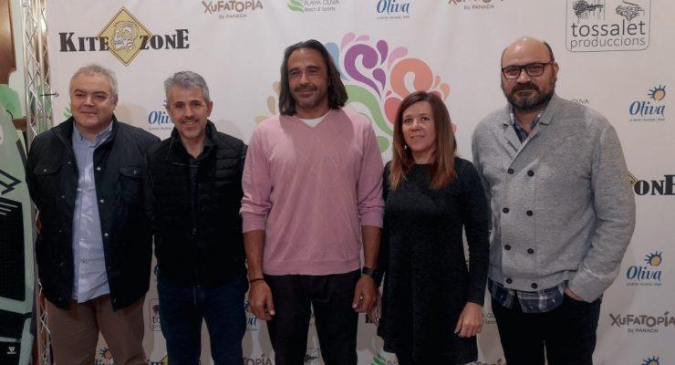 Oliva, protagonista de la primera travessia amb kitesurf per a salvar el Mediterrani