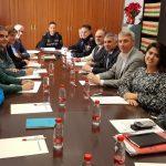 Oliva realitza la reunió de la Junta Local de Seguretat, presidida conjuntament per l'alcalde i el subdelegat del govern