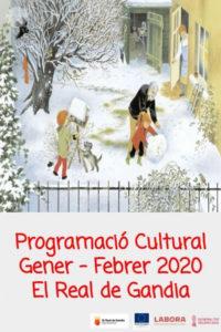 PROGRAMACIÓ CULTURAL GENER-FEBRER 2020