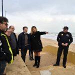 El Director Territorial de Presidència de la Generalitat Valenciana visita la platja de Miramar – Ajuntament de Miramar