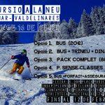 Excursió a la neu 2020 – Ajuntament de Miramar