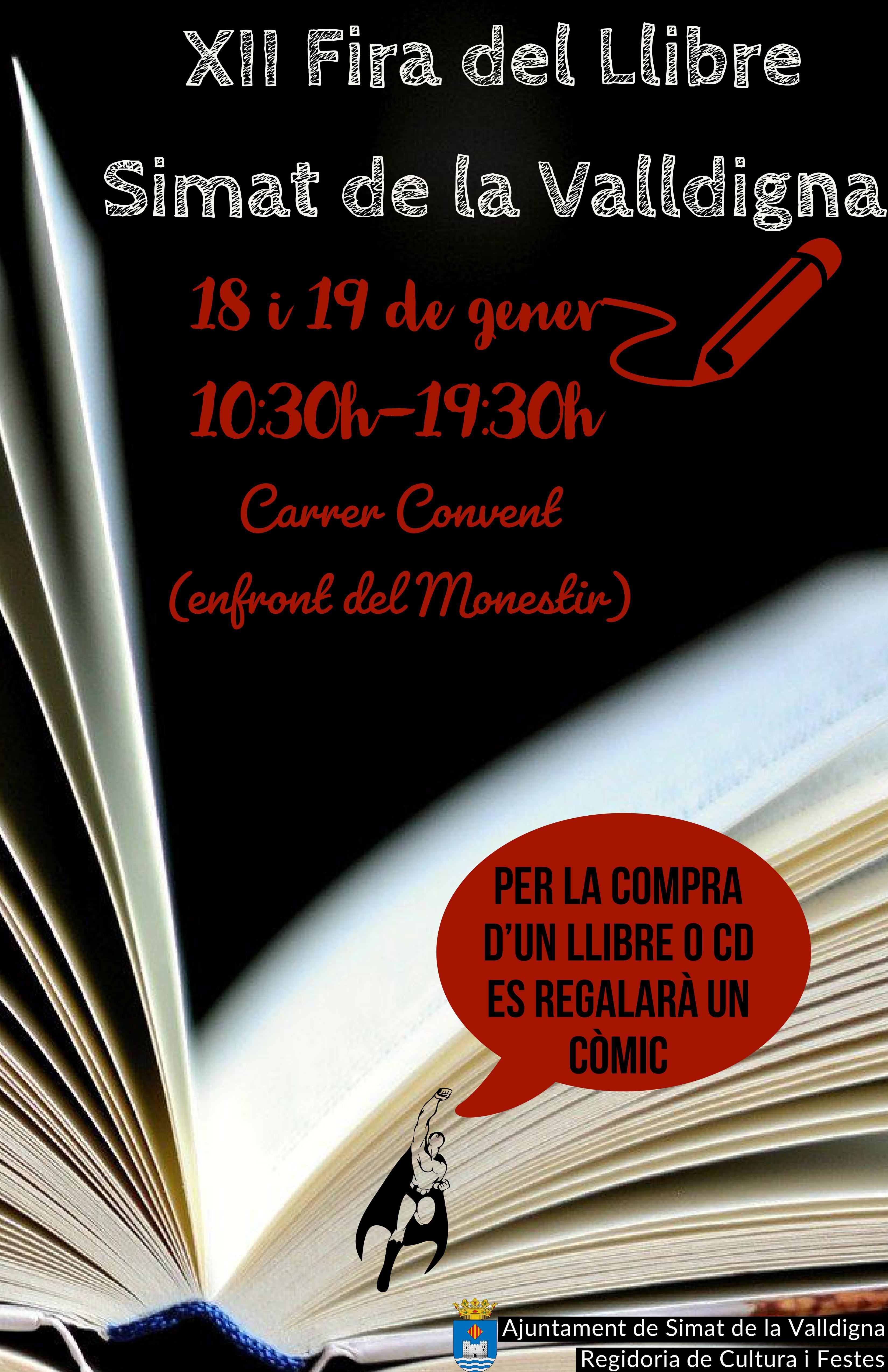 cartell Fira del llibre