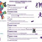 ACTIVITATS AL VOLTANT DE LA COMMEMORACIÓ DEL 8 DE MARÇ  5-3-20