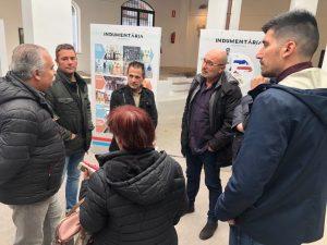 """L'exposició 'Faixa roja, faixa blava. La pilota valenciana"""" finalitza la itinerància en Chiva"""