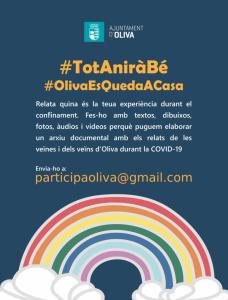 L'Ajuntament d'Oliva inicia un treball etnogràfic de participació ciutadana