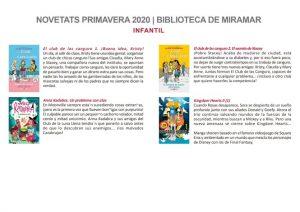 Novetats de la primavera 2020 – Ajuntament de Miramar