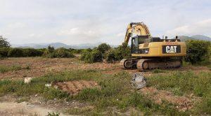 Comencen els primers treballs d'execució material de la Connexió Sud d'Oliva