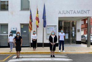 Minut de silenci per les victimes del COVID-19
