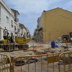 Les obres de peatonalització del C/ Major avancen a bon ritme – Ajuntament de Miramar