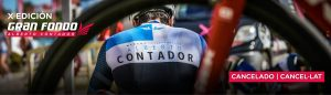 Gran Fondo Alberto Contador i l'Ajuntament d'Oliva han decidit cancel·lar la X edició d'aquest gran esdeveniment esportiu a causa de l'evolució sanitària de la pandèmia de la covid-19