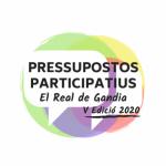 PRESSUPOSTOS PARTICIPATIUS V EDICIÓ | Real de Gandia