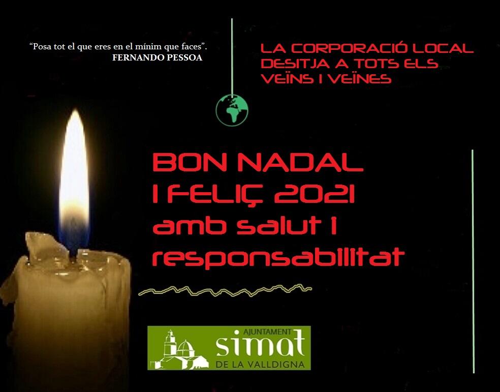 Felicitació Nadal Ajuntament
