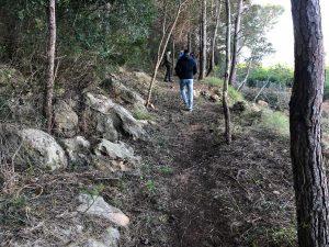 L'Ajuntament adequa la senda entre el Clot de la Font i el Castell de Marinyén
