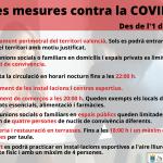 Noves mesures contra la COVID-19 1