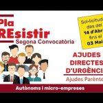Ajudes Pla Resistir. Segona Convocatòria – Ajuntament de Miramar