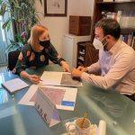 La diputada Dolors Gimeno es reunix amb el regidor d'Urbanisme i Trànsit de Godella