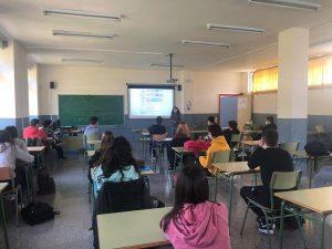 L'alumnat de 4t d'ESO i 2n de Batxillerat participa en la Fira Orienta't