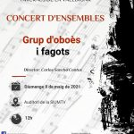 Concert d'Ensembles del grup d'oboès i fagots - SIUM Tavernes