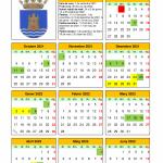Calendari escolar Víctor Calatayud 2021/2022